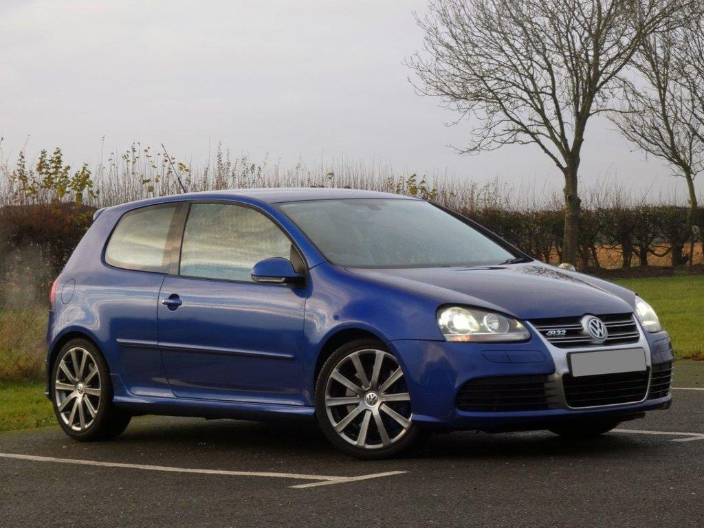 used 2007 57 volkswagen golf 3.2 r32 3d 250 bhp for sale pistonheads uk